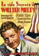 The Secret Life of Walter Mitty - Spanish DVD movie cover (xs thumbnail)