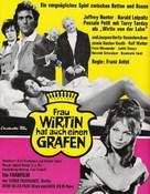 Frau Wirtin hat auch einen Grafen - German Movie Poster (xs thumbnail)