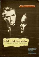 The Paradine Case - Polish Movie Poster (xs thumbnail)