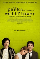 The Perks of Being a Wallflower - Dutch Movie Poster (xs thumbnail)
