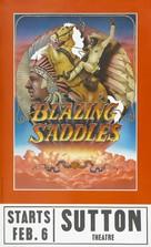 Blazing Saddles - British Movie Poster (xs thumbnail)