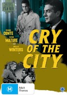 Cry of the City - Australian DVD cover (xs thumbnail)