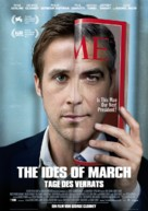 The Ides of March - German Movie Poster (xs thumbnail)