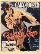 Cloak and Dagger - Belgian Movie Poster (xs thumbnail)
