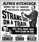 Strangers on a Train - British poster (xs thumbnail)