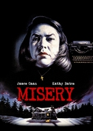 Misery - German DVD cover (xs thumbnail)