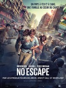 No Escape - French Movie Poster (xs thumbnail)