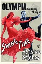Swing Time - Dutch Movie Poster (xs thumbnail)