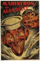Saps at Sea - Argentinian Movie Poster (xs thumbnail)
