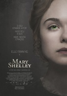 Mary Shelley - Portuguese Movie Poster (xs thumbnail)