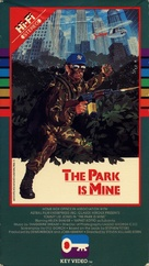 The Park Is Mine - VHS cover (xs thumbnail)