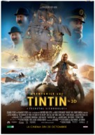 The Adventures of Tintin: The Secret of the Unicorn - Romanian Movie Poster (xs thumbnail)