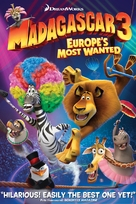 Madagascar 3: Europe's Most Wanted - DVD cover (xs thumbnail)