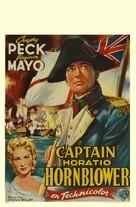 Captain Horatio Hornblower R.N. - Belgian Movie Poster (xs thumbnail)