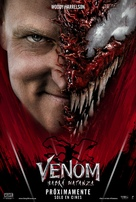 Venom: Let There Be Carnage - Spanish Movie Poster (xs thumbnail)