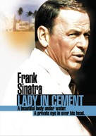 Lady in Cement - DVD cover (xs thumbnail)