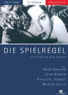 La règle du jeu - German Movie Cover (xs thumbnail)