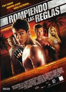 Never Back Down - Spanish Movie Poster (xs thumbnail)