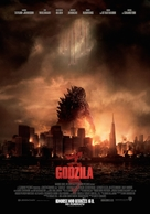 Godzilla - Lithuanian Movie Poster (xs thumbnail)