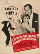 The Reluctant Debutante - French Movie Poster (xs thumbnail)
