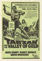 Tarzan and the Valley of Gold - South African Movie Poster (xs thumbnail)