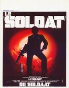 The Soldier - Belgian Movie Poster (xs thumbnail)