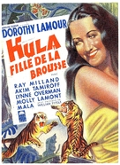 The Jungle Princess - Belgian Movie Poster (xs thumbnail)
