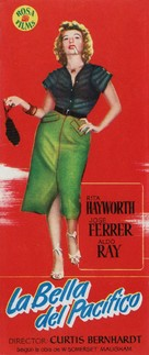 Miss Sadie Thompson - Spanish Movie Poster (xs thumbnail)