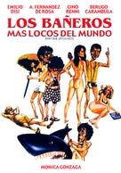 Los bañeros más locos del mundo - Argentinian DVD cover (xs thumbnail)