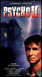 Psycho II - VHS movie cover (xs thumbnail)