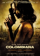 Colombiana - German Movie Poster (xs thumbnail)