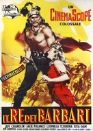 Sign of the Pagan - Italian Movie Poster (xs thumbnail)