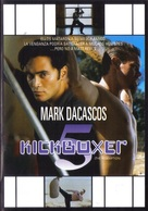Kickboxer 5 - Mexican DVD cover (xs thumbnail)