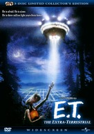 E.T.: The Extra-Terrestrial - DVD cover (xs thumbnail)