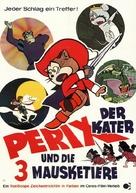 Nagagutsu o haita neko - German Movie Poster (xs thumbnail)
