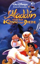 Aladdin And The King Of Thieves - German VHS movie cover (xs thumbnail)