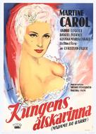 Madame du Barry - Swedish Movie Poster (xs thumbnail)