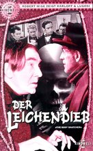 The Body Snatcher - German VHS cover (xs thumbnail)