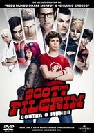 Scott Pilgrim vs. the World - Brazilian DVD cover (xs thumbnail)