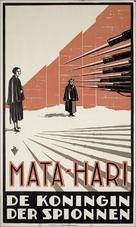 Mata Hari - Dutch Movie Poster (xs thumbnail)