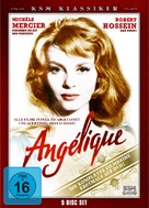 Merveilleuse Angélique - German DVD cover (xs thumbnail)