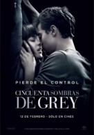 Fifty Shades of Grey - Mexican Movie Poster (xs thumbnail)