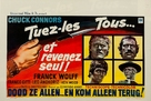 Ammazzali tutti e torna solo - Belgian Movie Poster (xs thumbnail)