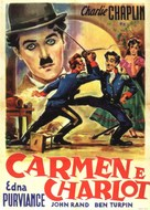 Burlesque on Carmen - Italian Movie Poster (xs thumbnail)