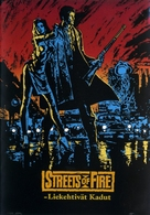 Streets of Fire - Danish Movie Poster (xs thumbnail)