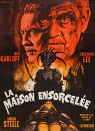 Curse of the Crimson Altar - French Movie Poster (xs thumbnail)