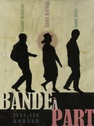 Bande à part - French Movie Poster (xs thumbnail)