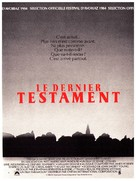Testament - French Movie Poster (xs thumbnail)