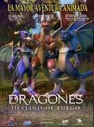 Dragones: destino de fuego - Peruvian Movie Poster (xs thumbnail)
