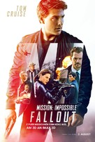 Mission: Impossible - Fallout - Luxembourg Movie Poster (xs thumbnail)